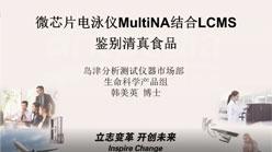 微芯片电泳仪MultiNA结合LCMS鉴别清真食品